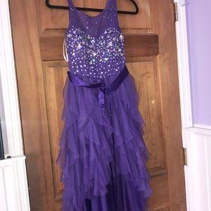 Purple formal/prom dress size 5/6